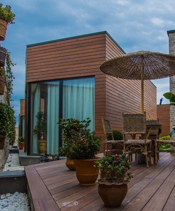 Aménagements de terrasse en bois
