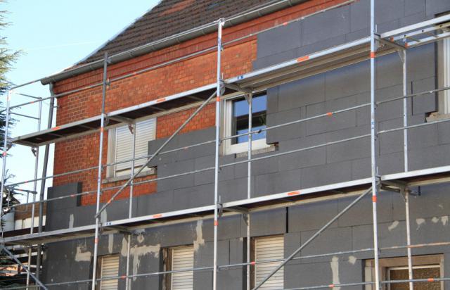 Travaux de rénovation énergétique : Isolation murs extérieurs