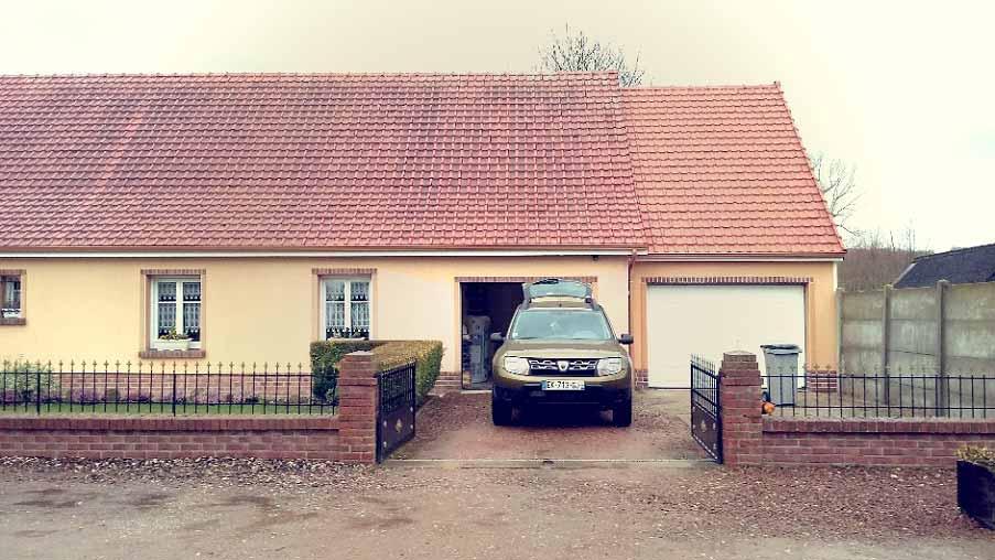 Création d'une extension garage d'environ 30 m²