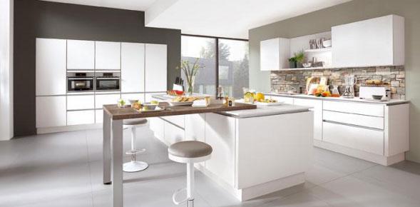 Rénovation cuisine en blanc