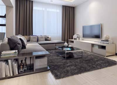 Extension et aménagement d'un salon