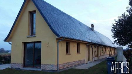 Rénovation et extension de longère - Après