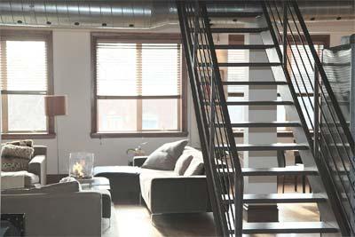 Rénovation appartement style industriel