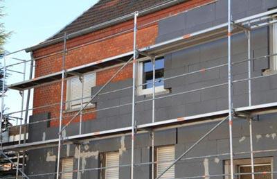 Rénovation énergétique isolation extérieure