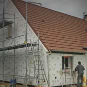 Rénovation de l'isolation par les murs extérieurs