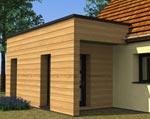L'extension toit plat